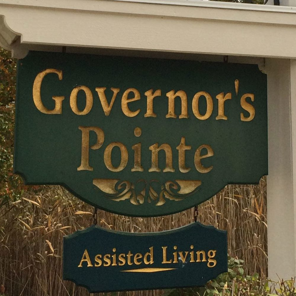 Signage for Governor's Pointe in Mentor, Ohio