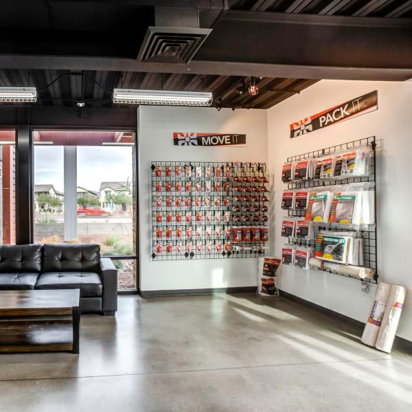 Packing supplies sold at StorQuest Self Storage in Buckeye, Arizona