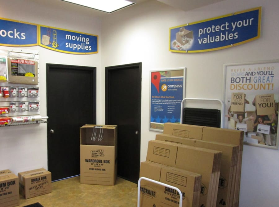 Packing Supplies at Compass Self Storage in Philadelphia, PA