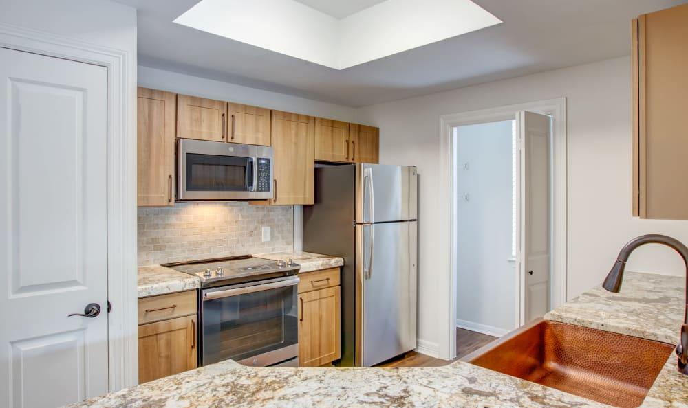 Upgraded kitchen in Austin, Texas