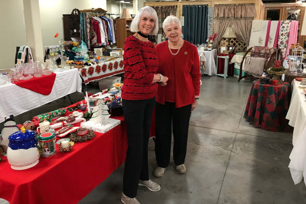 Senior entrepreneurs open thrift shop to the public at Arbour Square of Harleysville