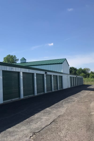 Units at New Albany Self Storage in New Albany, Ohio