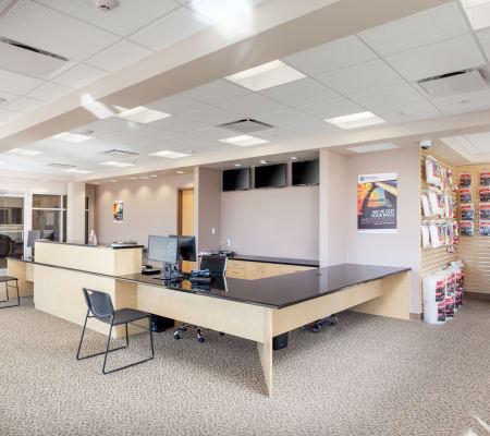 StorQuest Self Storage leasing office in Aurora, Colorado