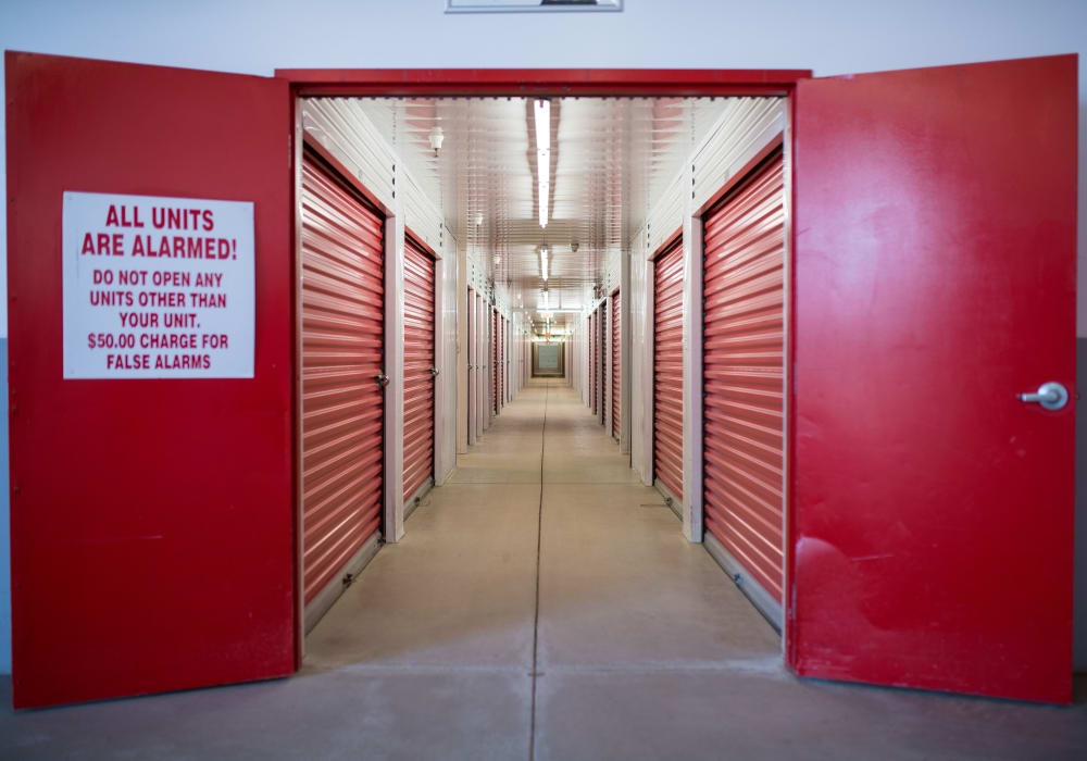 Indoor units at Apple Self Storage - Moncton in Moncton, New Brunswick