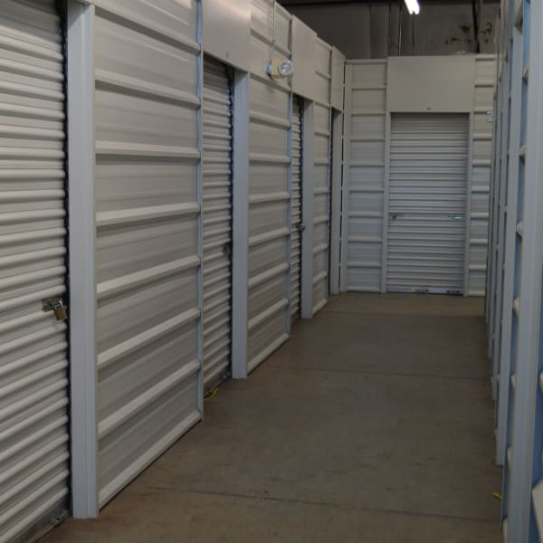 Indoor climate-controlled units at StorQuest Self Storage in Gainesville, Florida