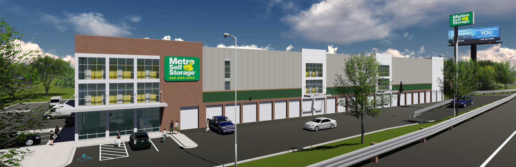 Metro Self Storage in Wood-Ridge, New Jersey