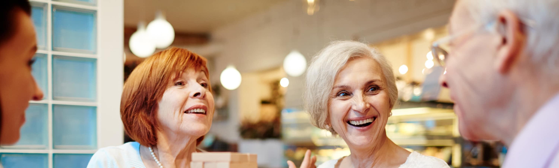Senior living options at the senior living community in Naples