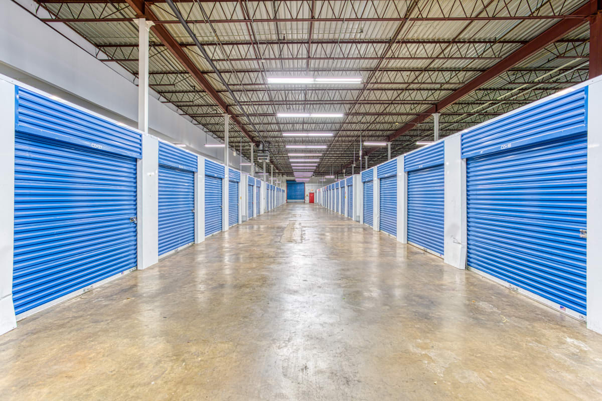 Climate-controlled storage options at Devon Self Storage in Memphis, Tennessee