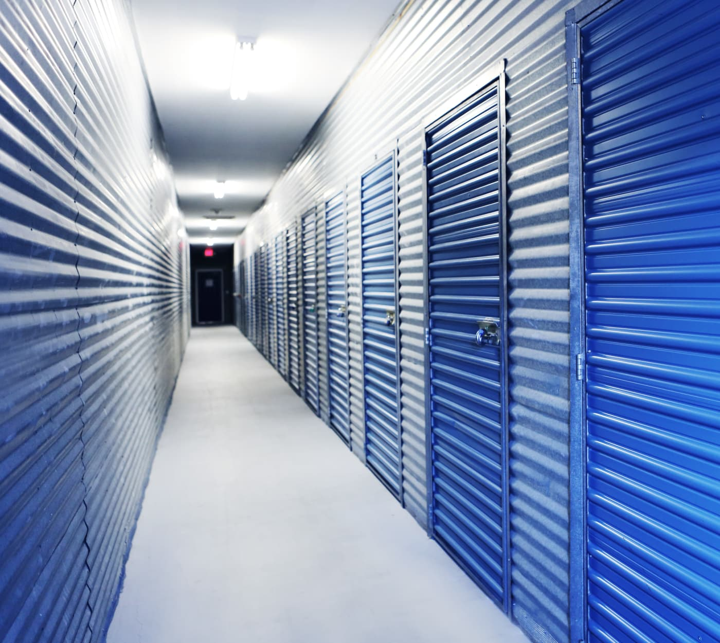 Ground-floor units at Midgard Self Storage in Cocoa, Florida