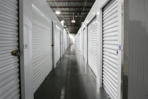 Interior units at Midgard Self Storage in Greenville, South Carolina