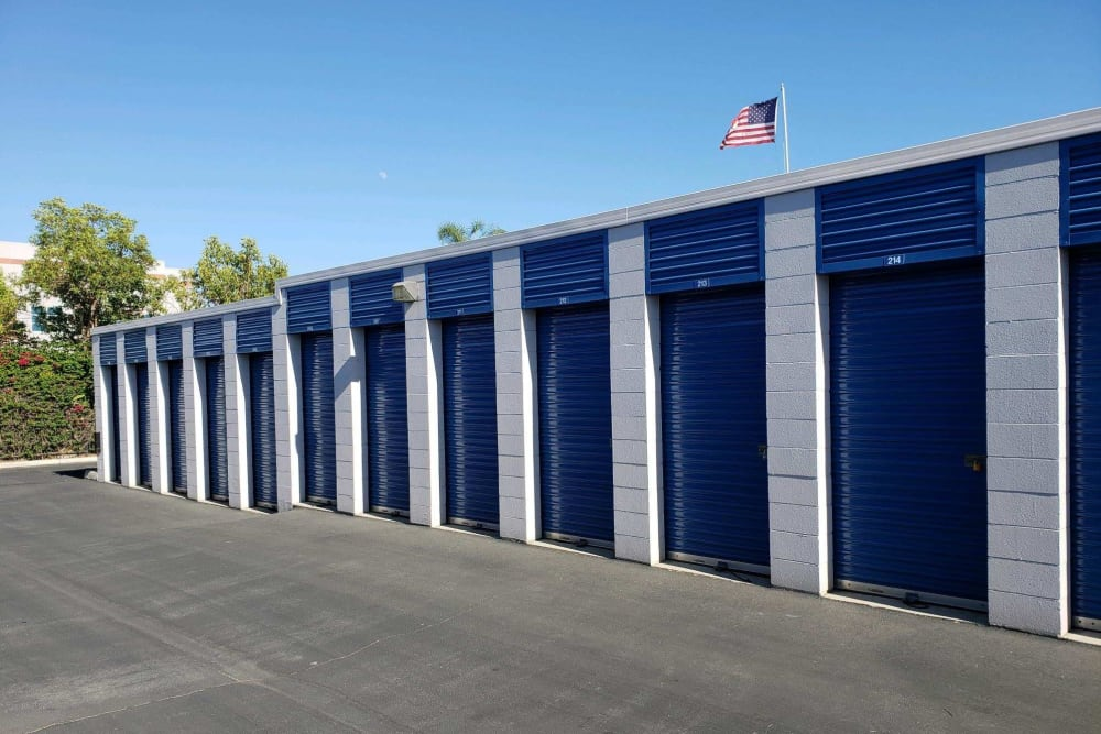 Drive up access self storage at Storage Etc... Pomona
