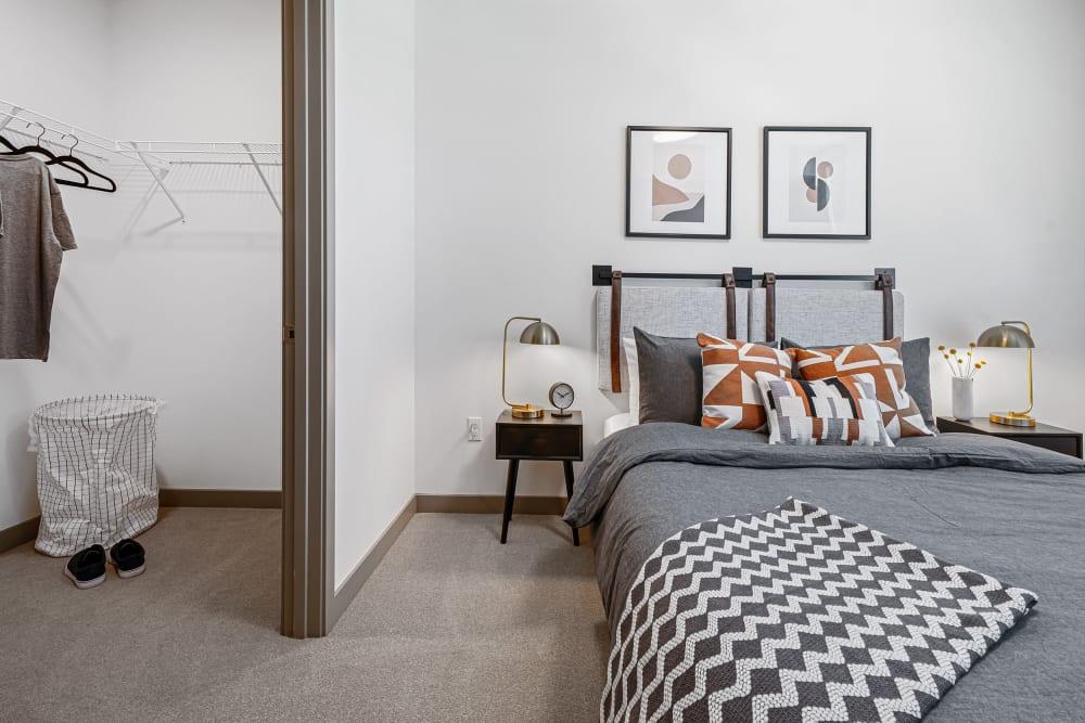 Bedroom w/ a Walk-in Closet at The Verge in Auburn, Washington