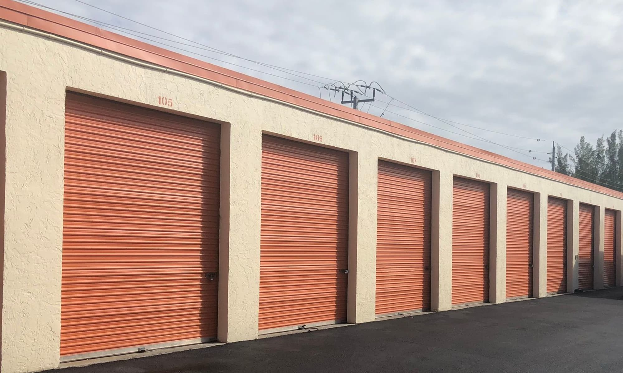 Find your self storage at Top Self Storage - North Lauderdale