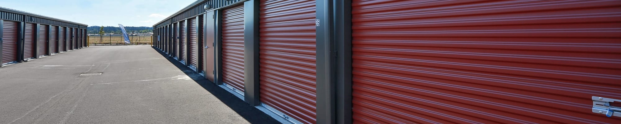 Self storage unit sizes and prices at Nest Self Storage in Salem, Oregon