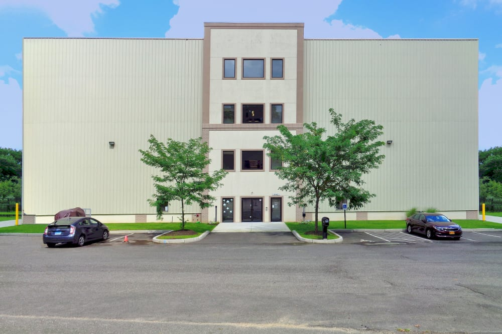 Exterior view of Prime Storage in Danbury, Connecticut