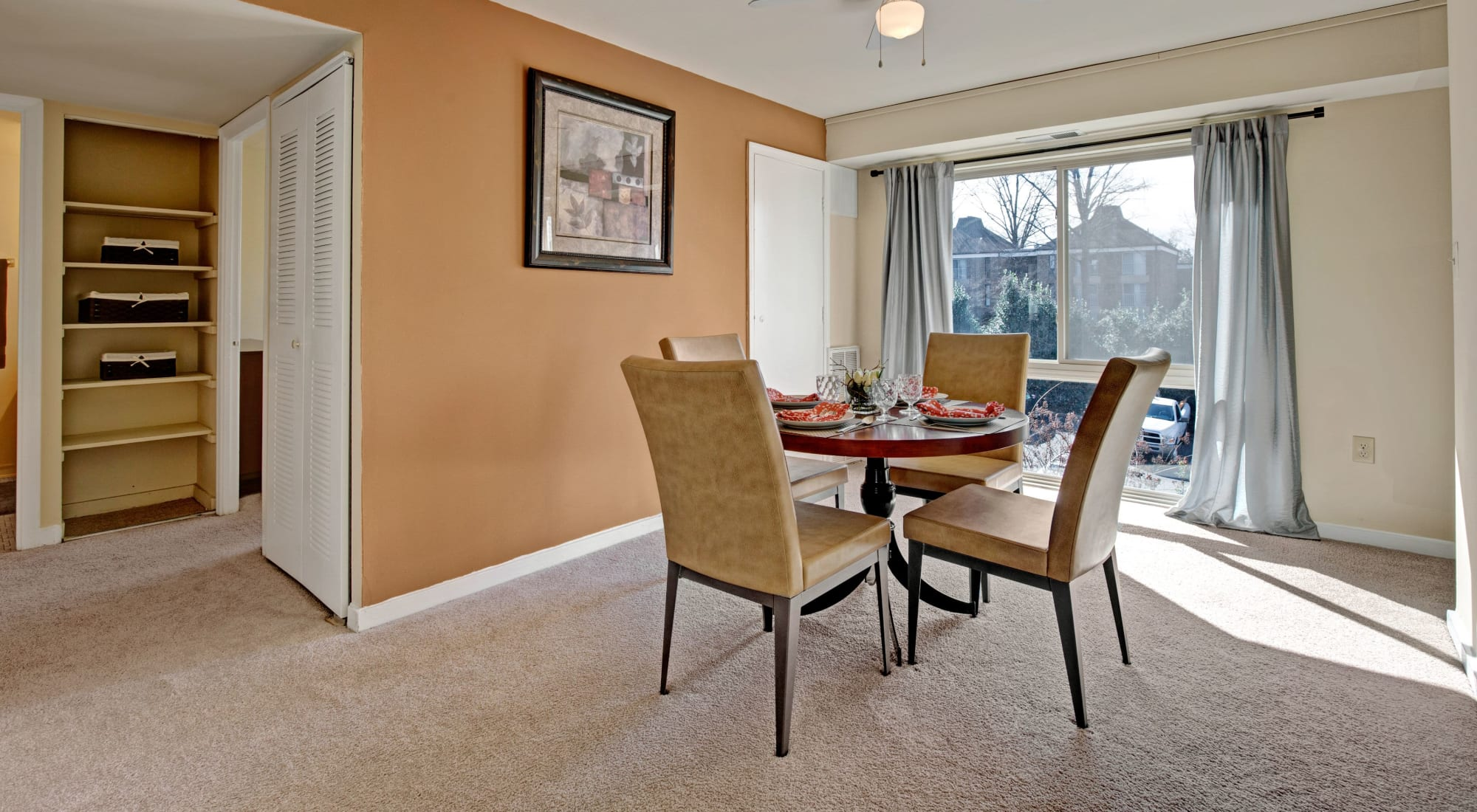 Floor plans at Westchester West in Silver Spring, Maryland
