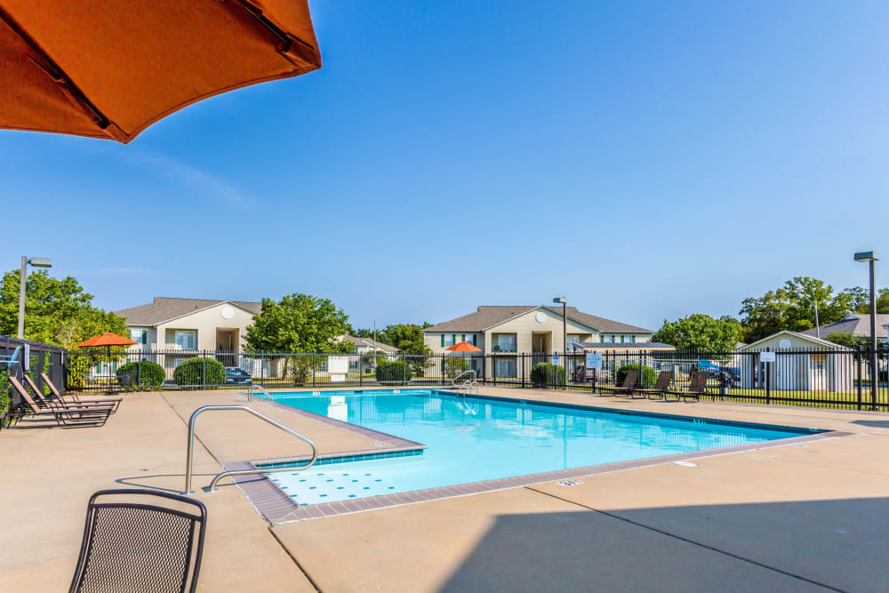 Another view of the pool at The Retreat at Sherwood in Sherwood, Arkansas