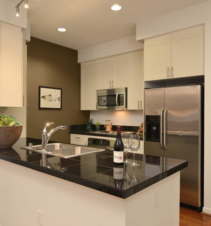 Fabulous kitchen at Chateau Woods Apartments