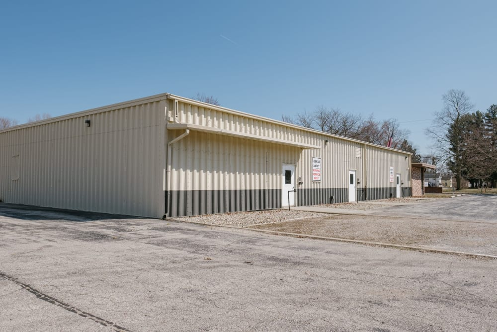 External view of our storage units at StayLock Storage in Coloma, Michigan