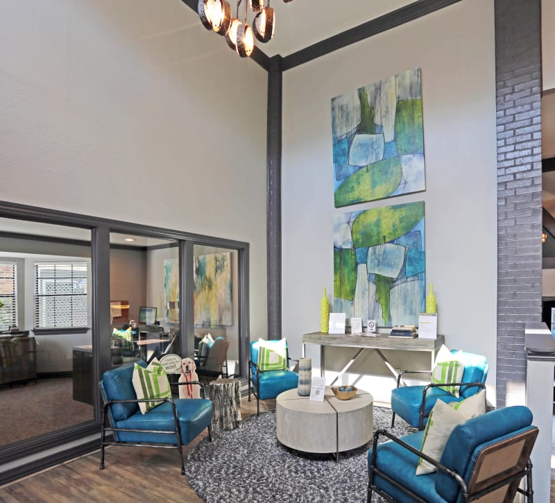 Luxury clubhouse at 1303 Main in Duncanville, Texas