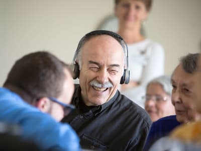 SoundBridge is bridging the gap of social isolation at Pacific View Senior Living Community