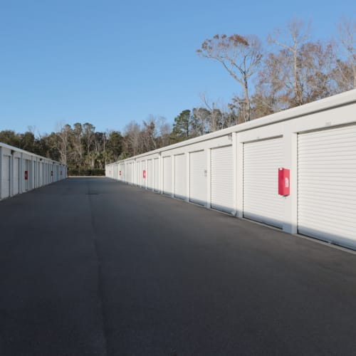 outdoor units at Midgard Self Storage