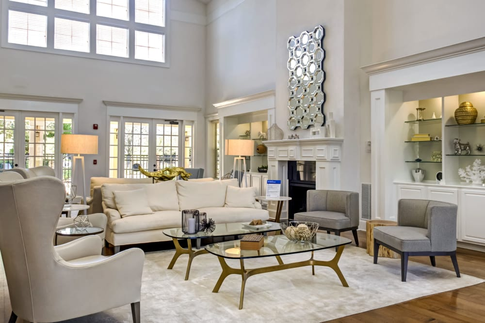 Spacious clubhouse at Provenza at Southwood in Tallahassee, Florida