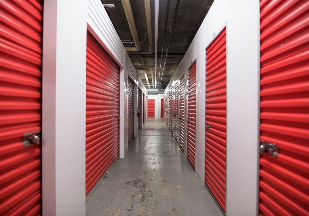 Interior units at Apple Self Storage - Halifax Downtown in Halifax, Nova Scotia