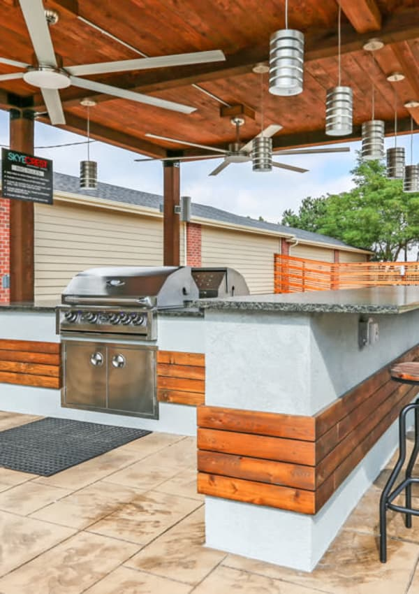 Pool Deck at Skyecrest Apartments in Lakewood, CO