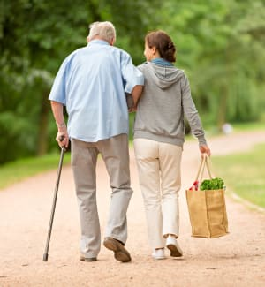View about assisted living at Armour Oaks Senior Living Community in Kansas City, Missouri.