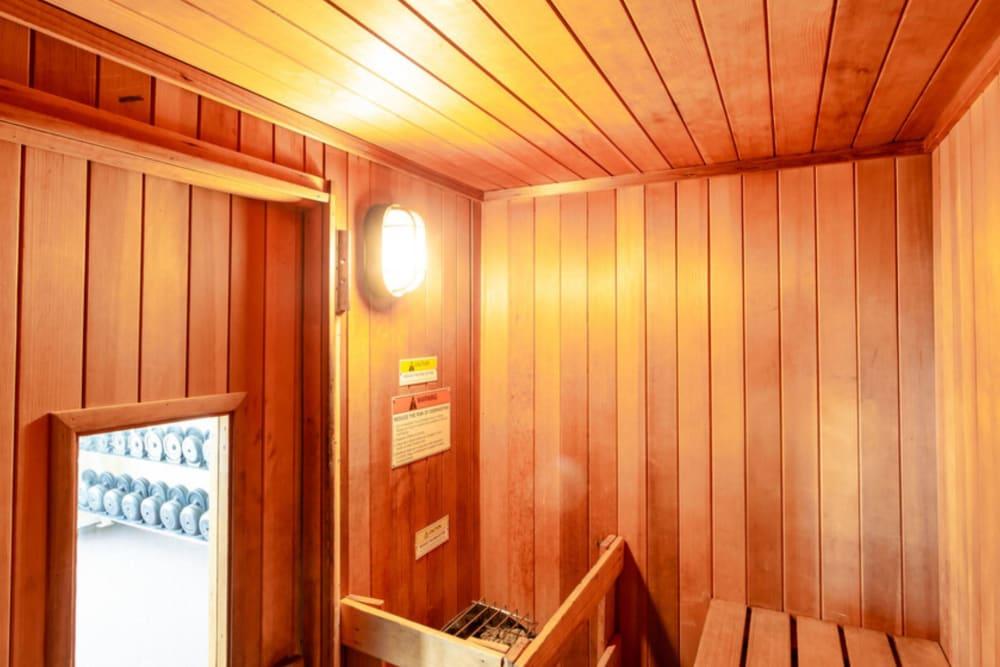 Awesome sauna at Bennington Hills Apartments in West Henrietta, New York