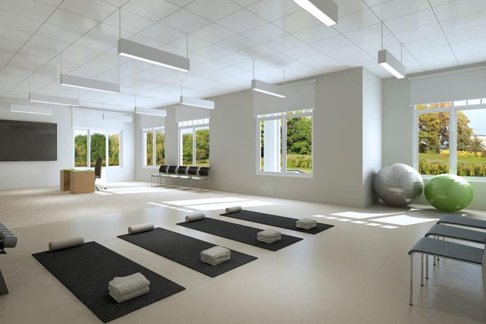 Resident wellness room at Anthology of Novi - OPENING 2020 in Novi, Michigan