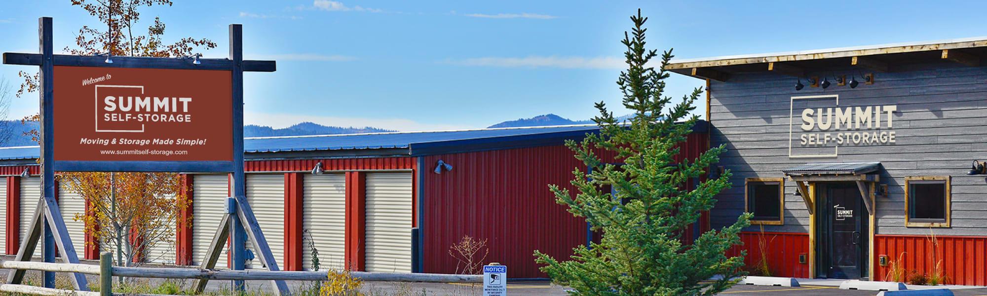 Summit Self-Storage in Victor, Idaho
