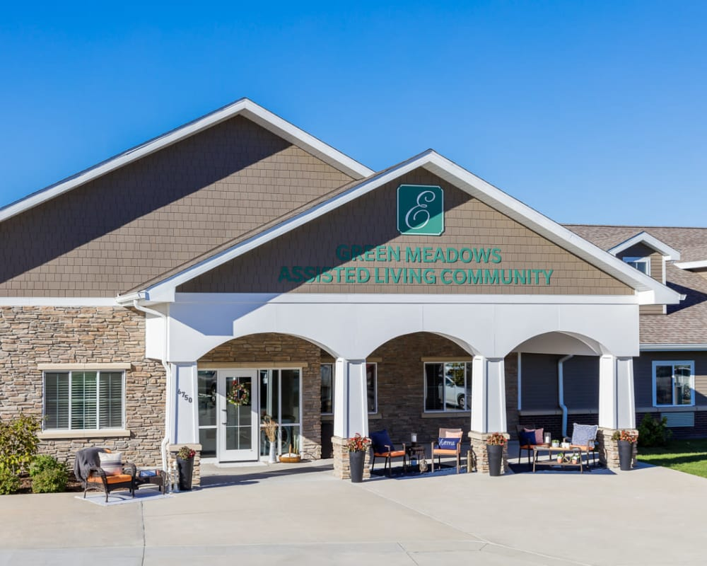 Welcome to Edencrest at Green Meadows in Johnston, Iowa.