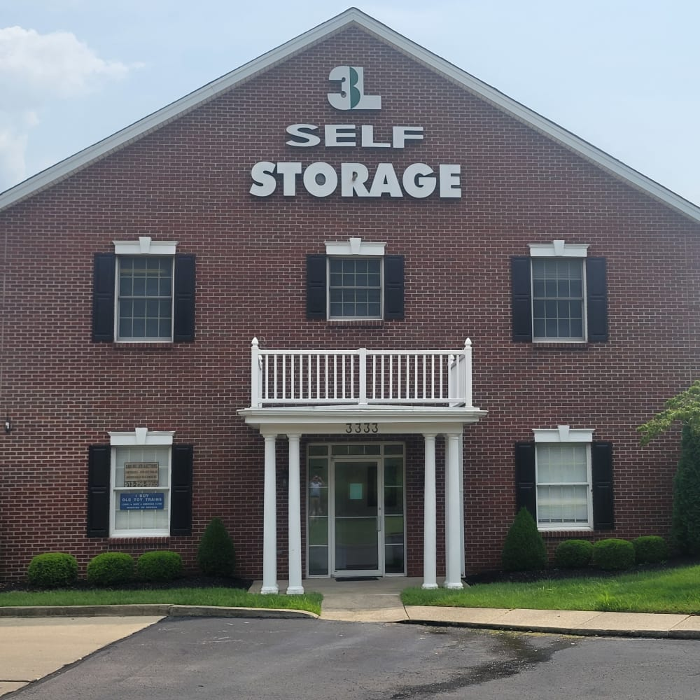 The front of 3L Self Storage in Fort Wright, Kentucky