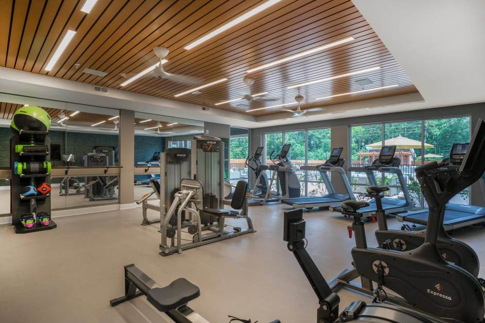 State-of-the-art fitness center at Alta Citizen in Newport News, Virginia