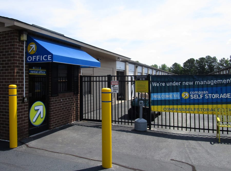 Front Entrance at Compass Self Storage in Philadelphia, PA
