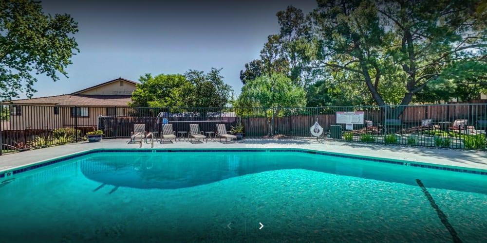 View a virtual tour of our luxurious garden-style community at Pleasanton Heights in Pleasanton, California