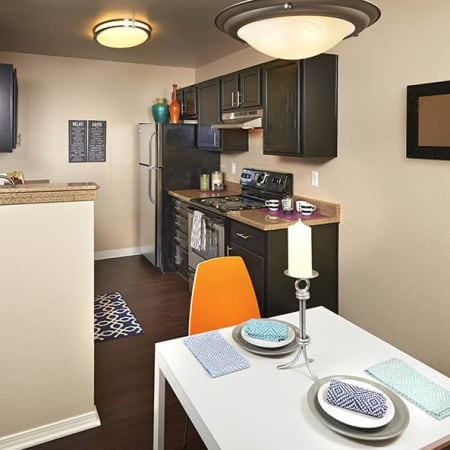 Crossroads at City Center Apartments floor plans