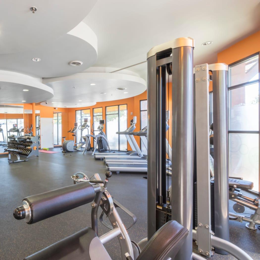 Onsite fitness center at M Street in Atlanta, Georgia
