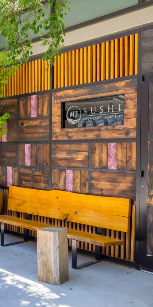 Sushi restaurant near Inman Quarter in Atlanta, Georgia