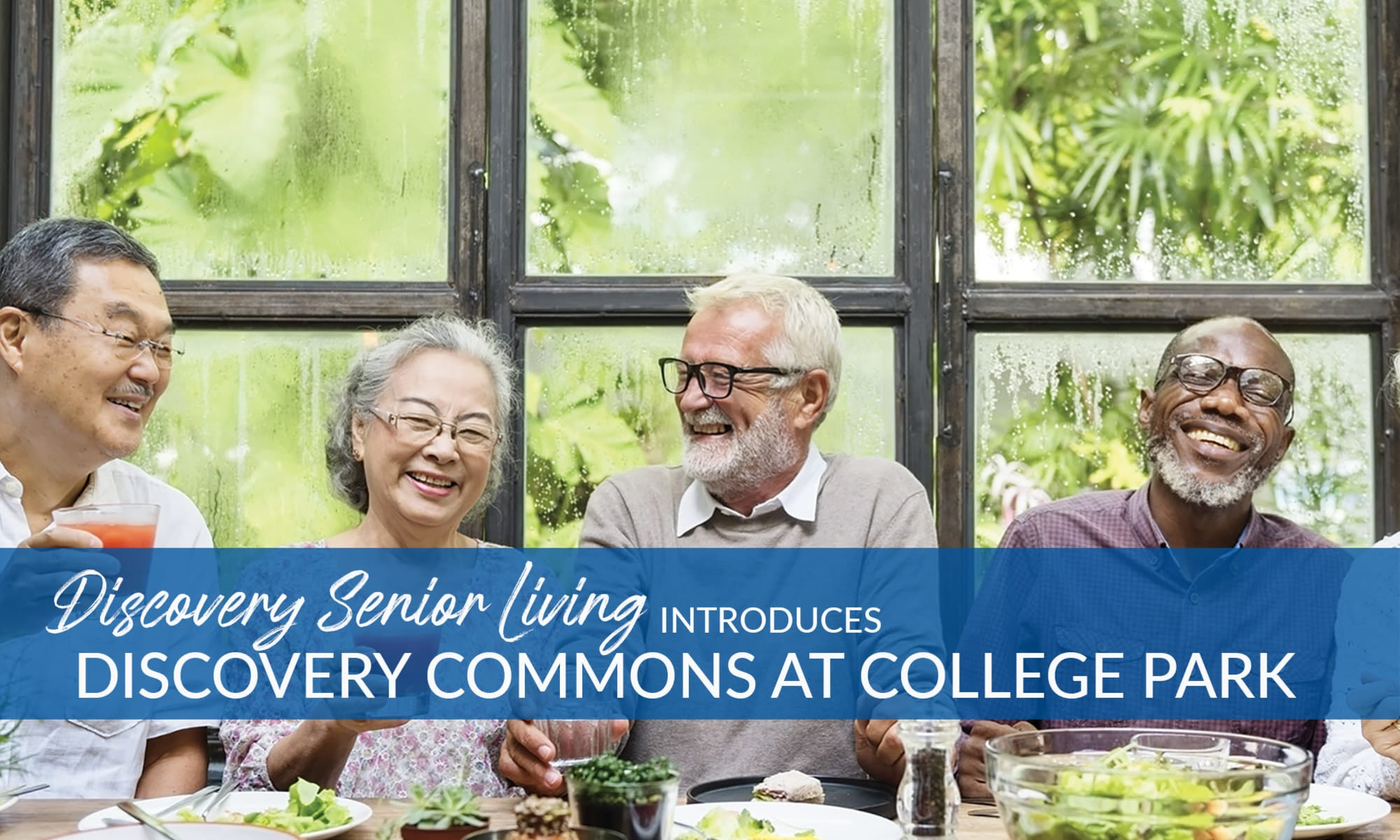 Senior living at Discovery Commons At College Park in Indianapolis, Indiana