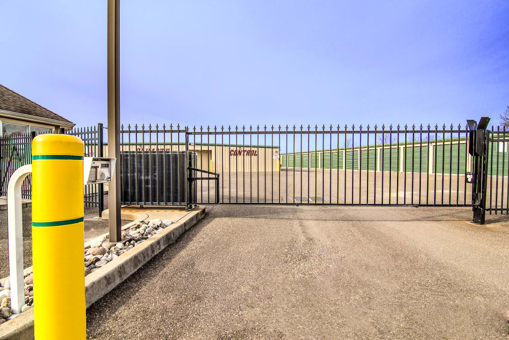 Security gate at On Site Storage in Hammonton, NJ
