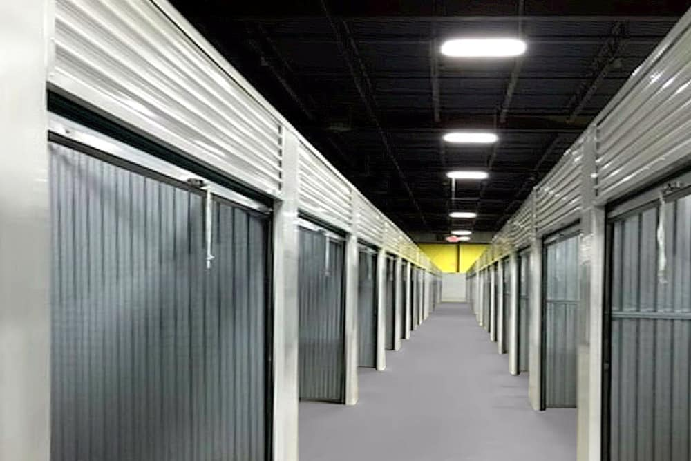 Indoor units at Prime Storage in Dracut, Massachusetts