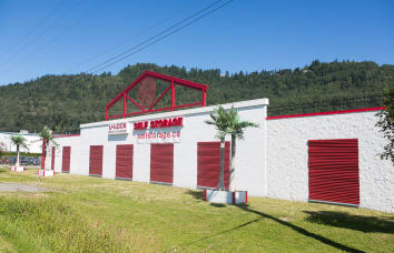 Exterior of Self Storage location