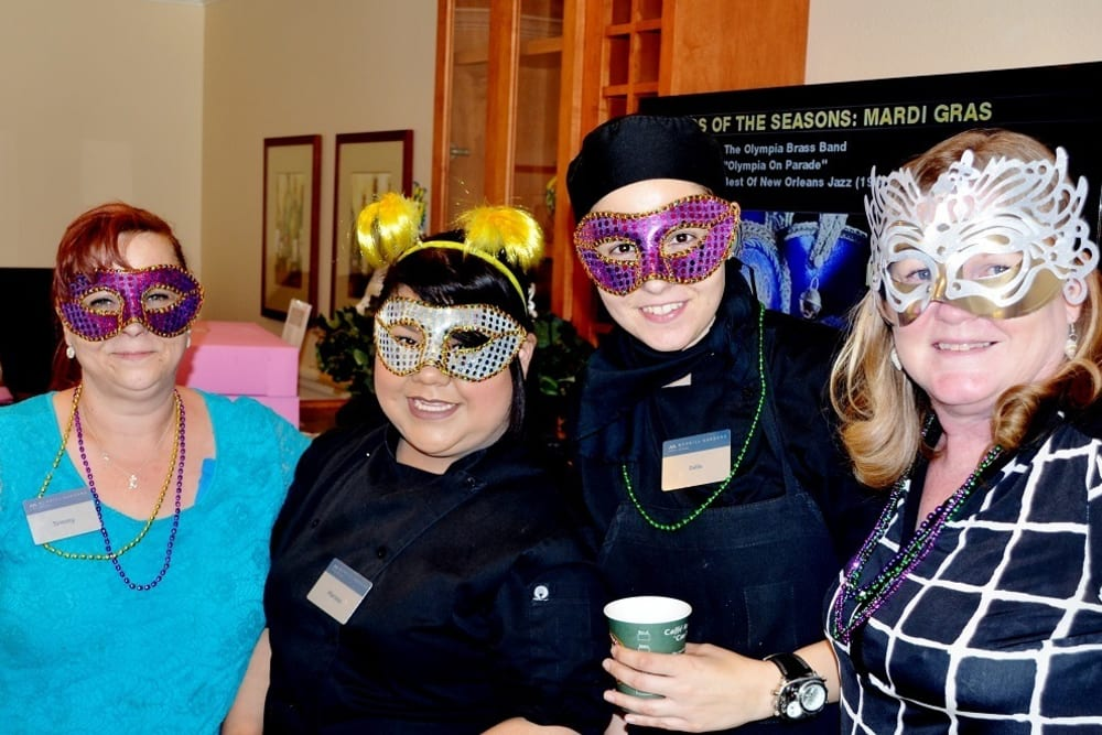 Masquerade Party at Merrill Gardens at Santa Maria in Santa Maria, California.
