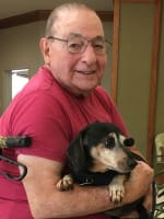 Stan, resident at Merrill Gardens at Woodstock in Woodstock, Georgia.