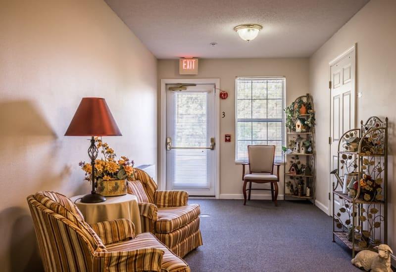 Senior living apartment at Randall Residence of Fremont in Fremont, Ohio