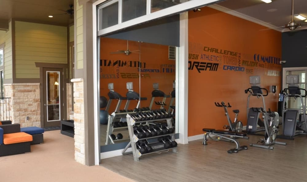 fitness center at Springs at Hurstbourne in Louisville, KY
