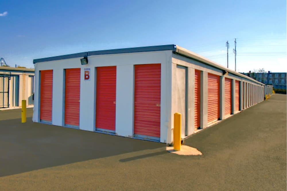 Outdoor storage units at Prime Storage in Philadelphia, Pennsylvania